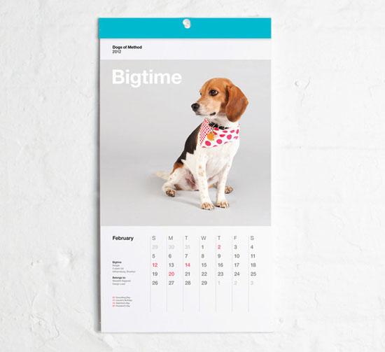 2012 Dogs of Method Calendar
