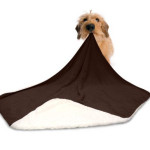 Reversible American Kennel Club Pet Throw Is Super Soft and Warm