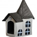 Plush Beige Pet House by Coco & Pud