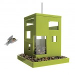 Modern Umbra Bird Cafe Hanging Bird Feeder