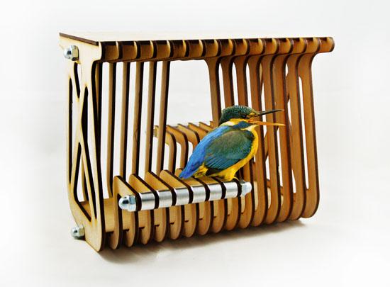 Modern Birdhouse by Paul Kweton