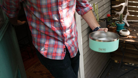 YETI Boomer 8 Dog Bowl – Double Wall Stainless Steel Bowl