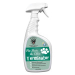 Pet Stain and Odor Terminator Features 3 in 1 Custom Pet Enzyme Formula to Clean Nasty Stains and Odor