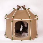 Cat Study House TheGiant : Modern Small Tent for Your Feline Friend