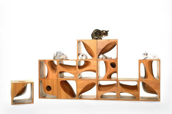 CATable 2.0 Storage System For Your Cats by LYCS Architecture