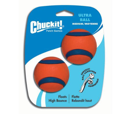 Chuckit! Ultra Dog Ball Toy in Orange