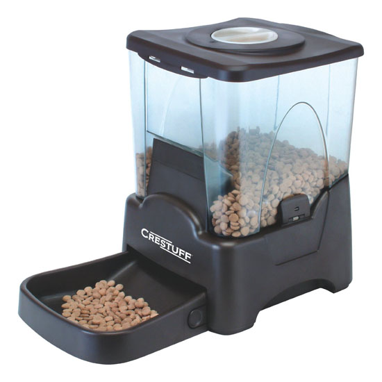 Crestuff Automatic Portion Control Pet Feeder