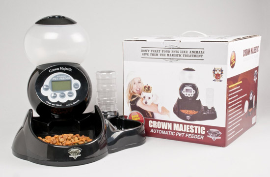 Crown Majestic Diamond Series V2 Automatic Pet Feeder