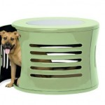 DenHaus ZenHaus : Modern Dog House with End Table