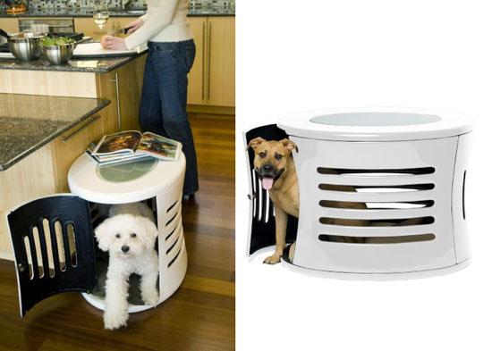 DenHaus ZenHaus Modern Dog House with End Table