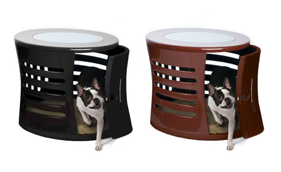 DenHaus ZenHaus Modern Dog House with End Table