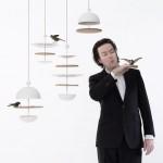 Dish of Desire Bird Feeder by Frederik Roijé
