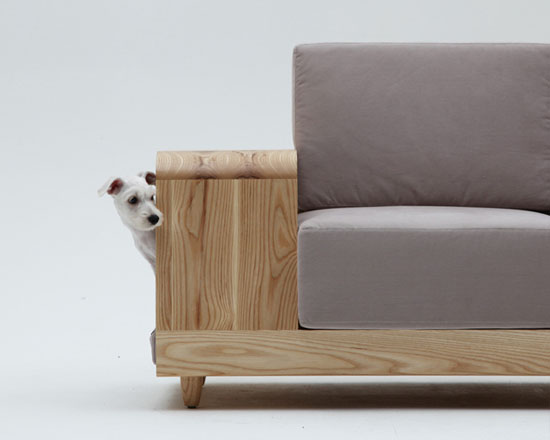 Dog house sofa by seungji mun for m pup best pet Dog house sofa