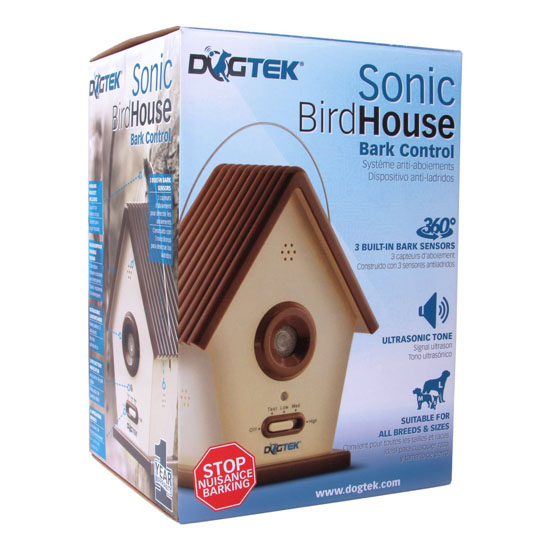 DOGTEK Sonic BirdHouse Bark Control For Both Outdoor and Indoor