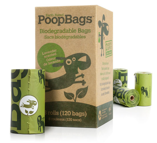 Earth Rated 120 Lavender Scented Dog Waste Poop Bags