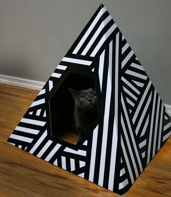 Energy Pyramid Cat House