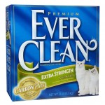 Ever Clean Extra Strength Cat Litter with Carbon Plus Holds Nasty Odor Very Well