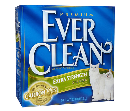 Ever Clean Extra Strength Cat Litter with Carbon Plus