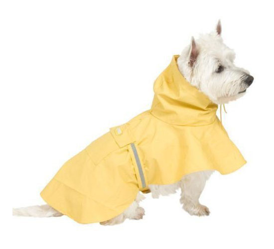 Fashion Pet Puddles Dog Raincoat Poncho