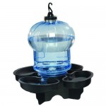 First Nature Globe Style Bird Bath and Waterer Can Holds Up To 100-ounces of Water