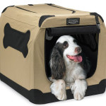 Durable Firstrax Port-A-Crate E2 Indoor/Outdoor Pet Home Folds Flat For Easy Storage