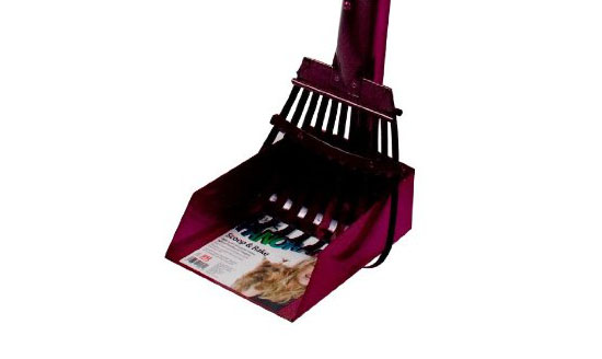 Flexrake 58AR Raspberry Panorama Small Dog Scoop and Rake Set