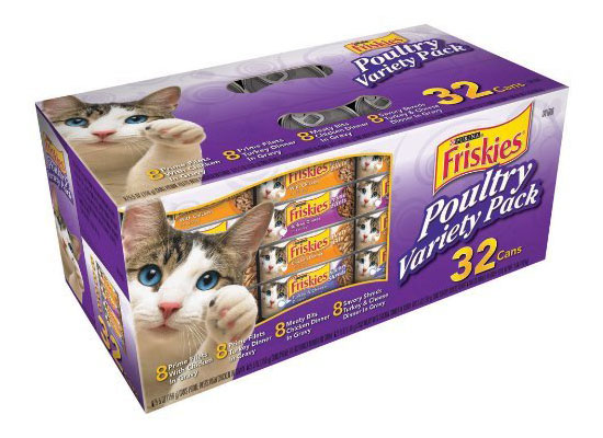 Friskies Cat Food Poultry Variety Pack