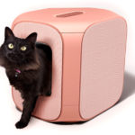 Gizelle Lifestyle Cat Litter Box Features Soft Materials with High-End Looks
