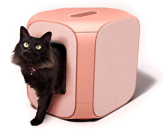 Gizelle Lifestyle Cat litter box by David dos Santos