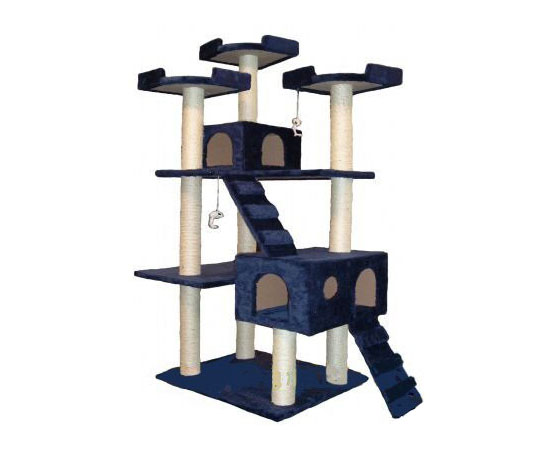 Go Pet Club Cat Tree Condo Scratcher