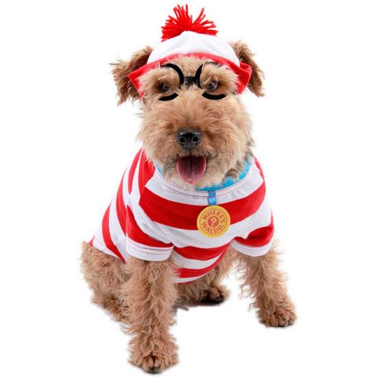 Top 20 Dog Halloween Costumes - Where's Waldo Woof Pet Costume
