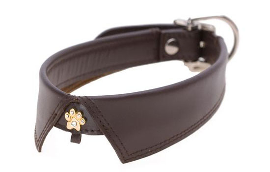 Hamish McBeth Savile Row Leather Dog Collars