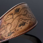 Luxury Hand-Painted Greyhound Collar by Riccardo Malucchi