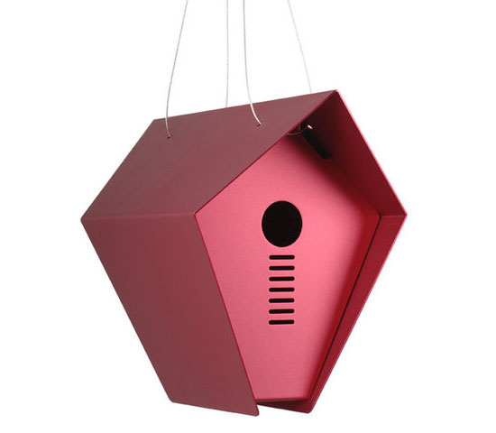 Hepper Roost Birdhouse - Mini Modern Bird House
