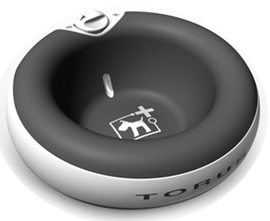 Heyrex Torus Ultimate Pet Water Bowl For Dogs and Cats