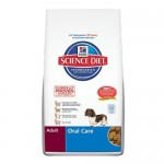 Hill's Science Diet Adult Oral Care Dry Dog Food Keeps Your Dog's Teeth Healthy