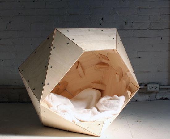 HomeMade Modern EP13 Geometric Dog House