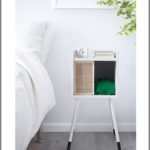Modern LURVIG Cat House on Legs from IKEA Doubles As A Practical Nightstand