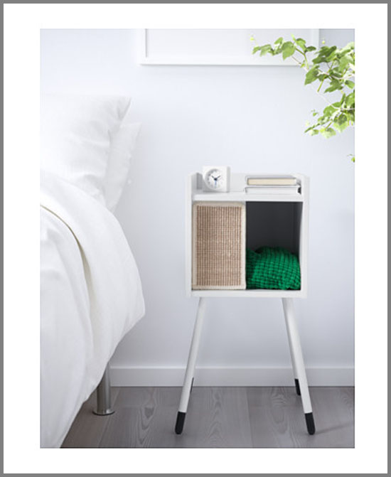 LURVIG Cat house on legs with pad from IKEA