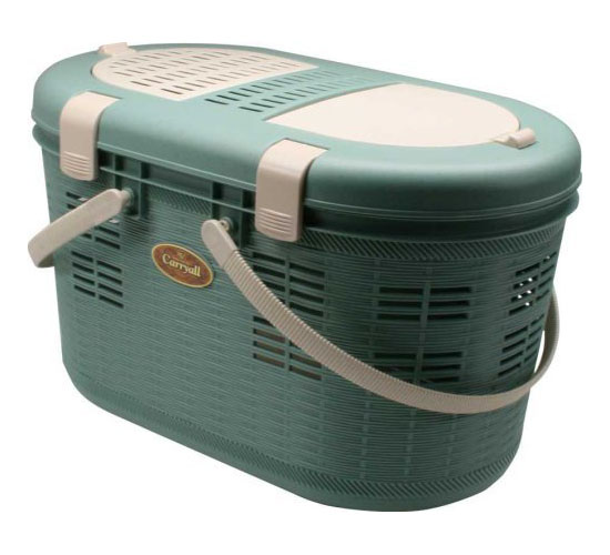 IRIS Pet Carrier with Picnic Basket Design
