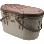 IRIS Pet Carrier with Picnic Basket Design : Carry Your Pet with Style