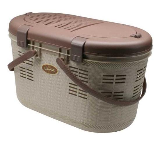 IRIS Pet Carrier with Picnic Basket Design