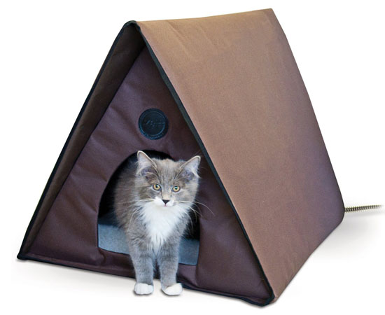K&H Manufacturing Outdoor Kitty A-Frame Cat House