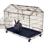 Kennel Aire Frame Bunny House With Arched Roof Design