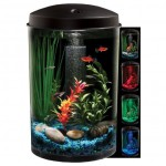 KollerCraft AQUARIUS AquaView 360 Aquarium Kit Comes with Beautiful 6 LED Lights