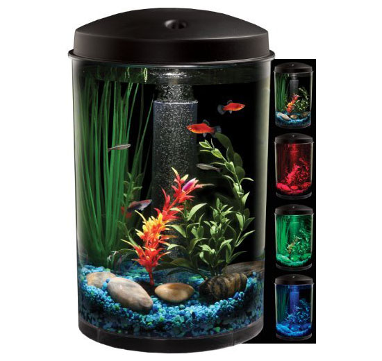 KollerCraft AQUARIUS AquaView 360 Aquarium Kit