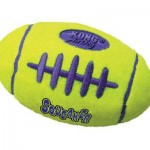 KONG Air Dog Squeaker Football Dog Toy is Irresistible!