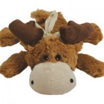 KONG Cozie Marvin the Moose Dog Toy Is Soft and Cuddly Plush Toy for Your Furry Friend