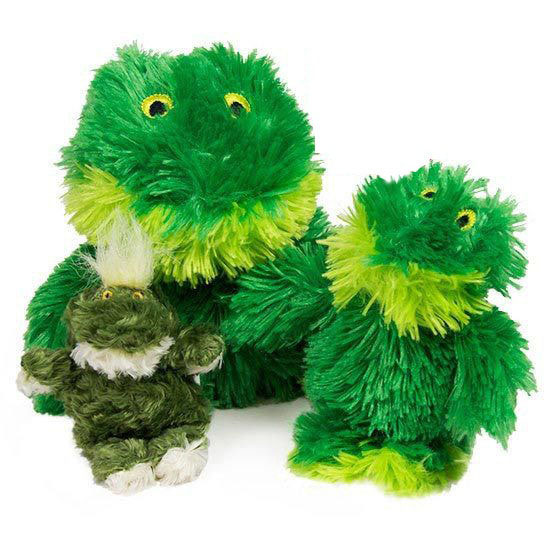 Kong Fuzzy Frog Squeaker Toy