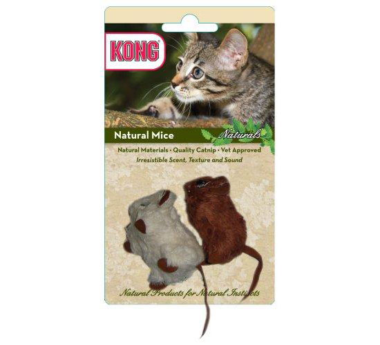 Kong Natural Mice Cat Toy
